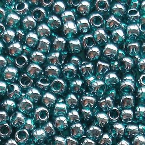 Toho 8/0 Seed Beads  Transparent Teal Lustre 108BD - 10 grams